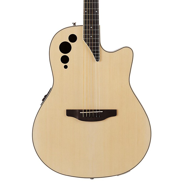 Applause Elite Series AE44II Acoustic-Electric Guitar Natural