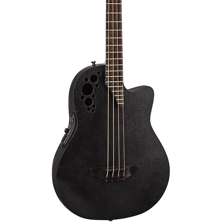 OvationElite TX Mid Depth Acoustic-Electric BassBlack