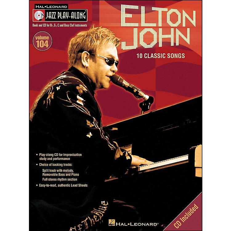 Hal LeonardElton John - Jazz Play-Along Volume 104 (CD/Pkg)