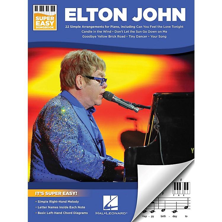 Hal LeonardElton John - Super Easy Songbook