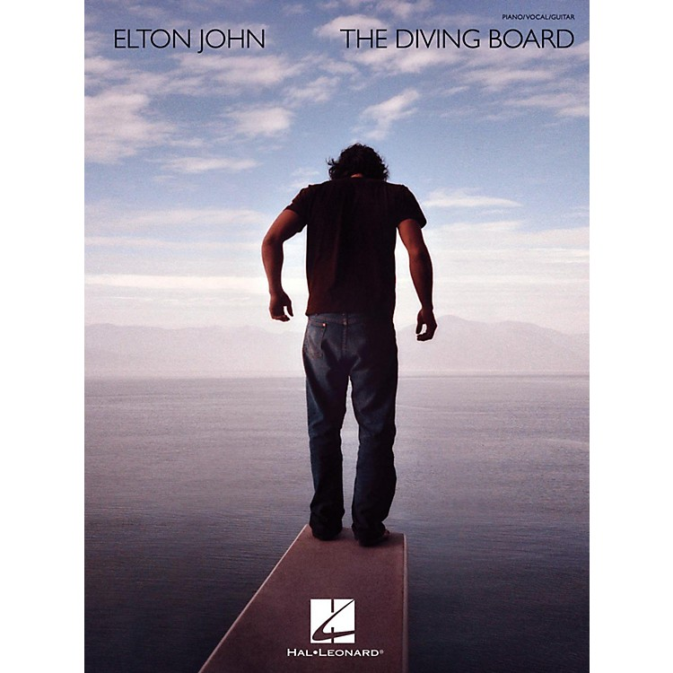Hal LeonardElton John - The Diving Board for Piano/Vocal/Guitar