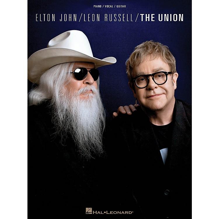 Hal LeonardElton John/Leon Russell - The Union PVG Songbook
