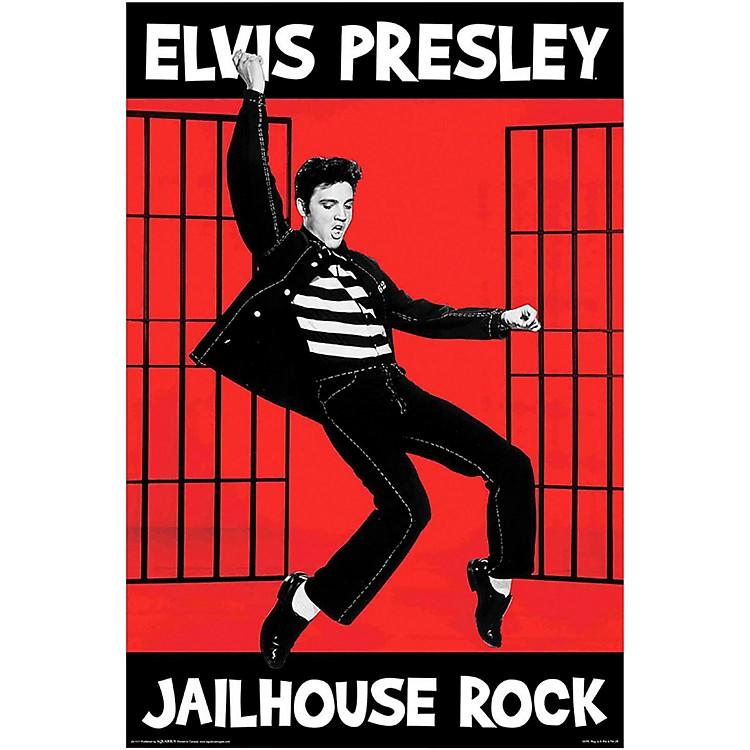 Hal LeonardElvis Jailhouse Wall Poster