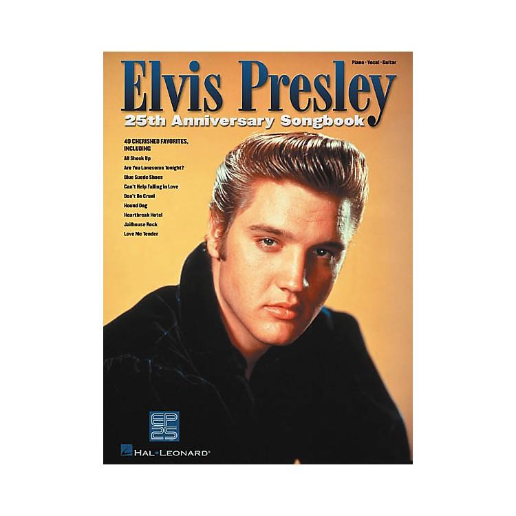 Hal LeonardElvis Presley 25th Anniversary Piano, Vocal, Guitar Songbook