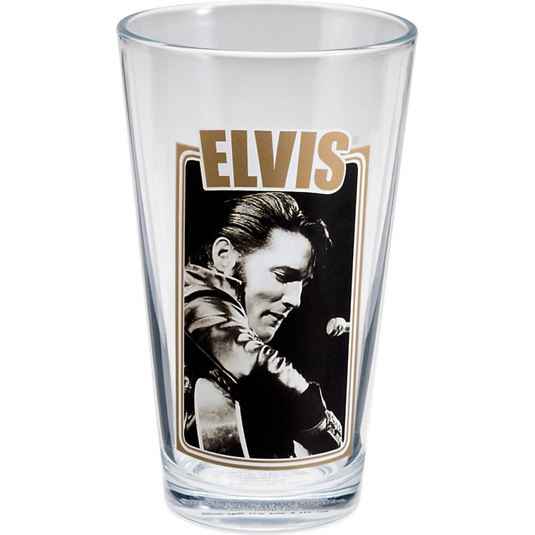 Vandor Elvis Presley 4-Piece 16 oz. Glass Set