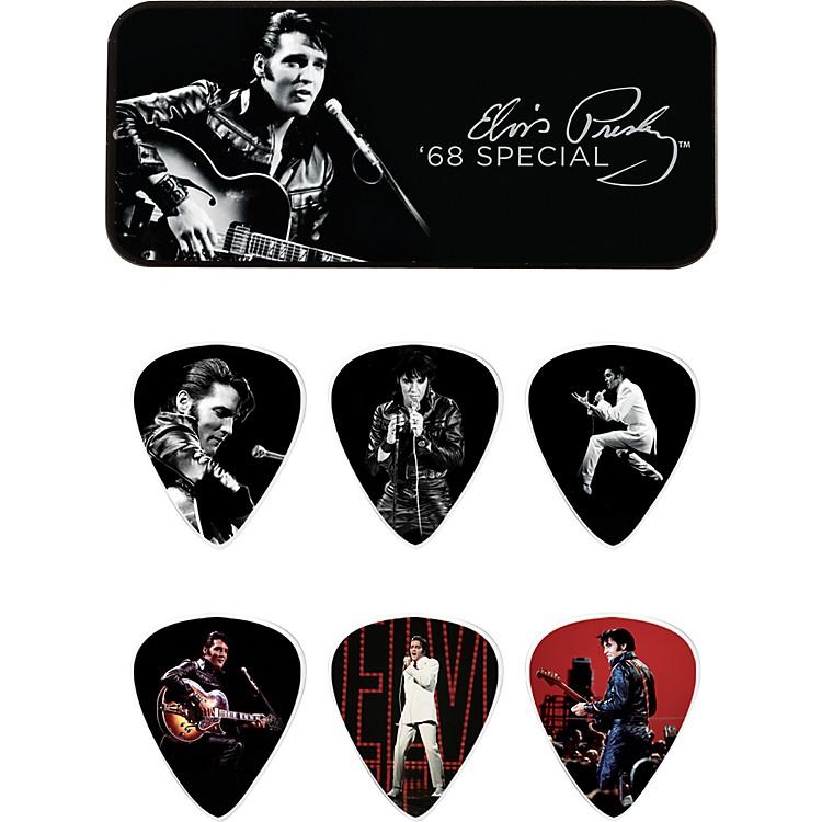 DunlopElvis Presley '68 Special Pick Tin with 6 Medium Picks