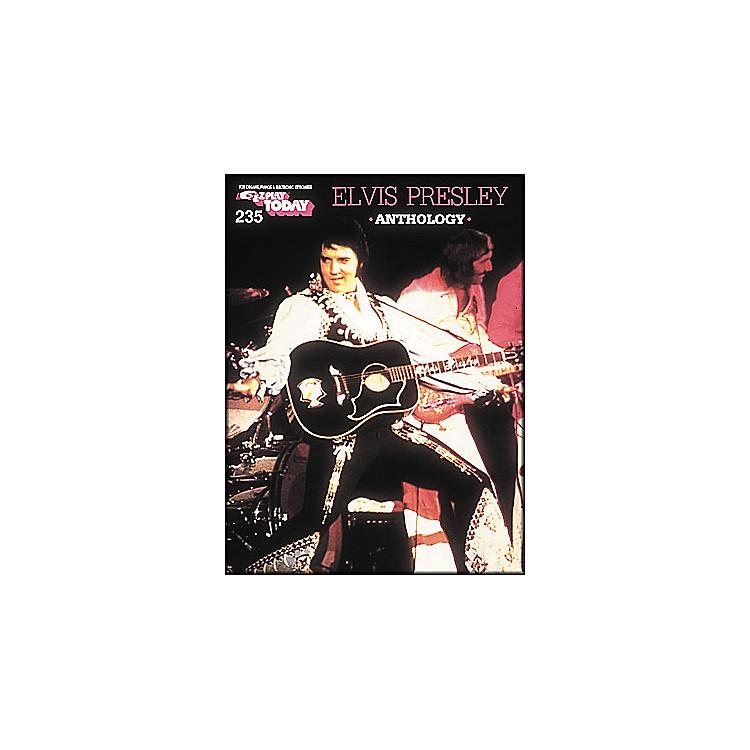 Hal LeonardElvis Presley Anthology E-Z Play 235