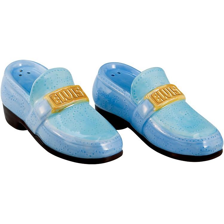 VandorElvis Presley Blue Suede Shoes Ceramic Salt & Pepper Set