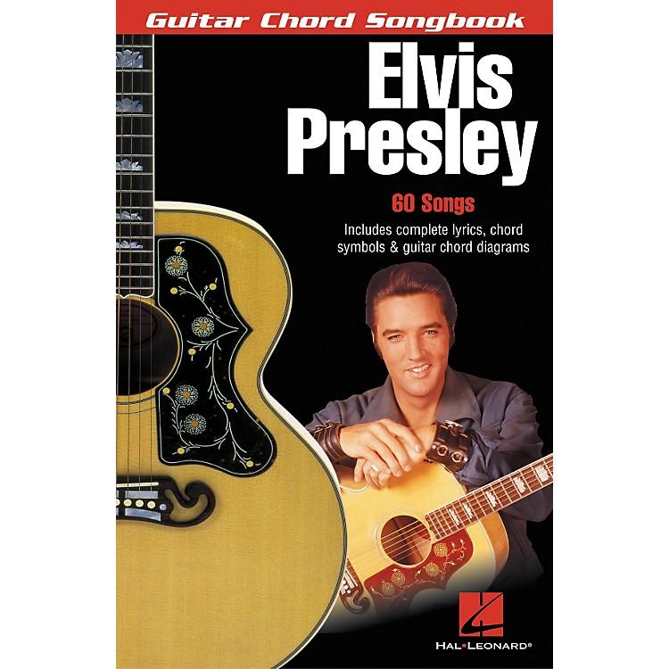 Hal LeonardElvis Presley Guitar Chord Songbook