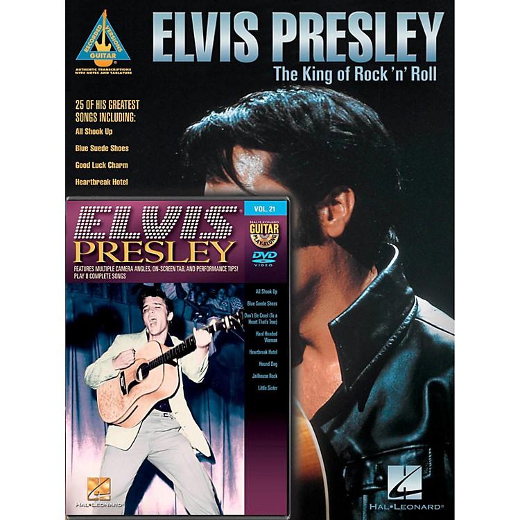 Hal LeonardElvis Presley Guitar Pack Book/DVD