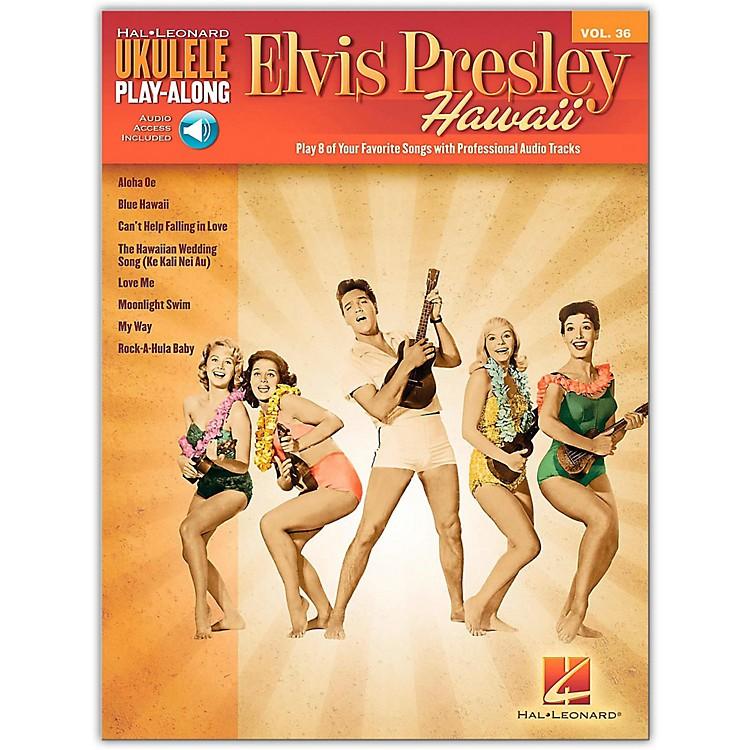 Hal LeonardElvis Presley Hawaii - Ukulele Play-Along Vol. 36 Book/Online Audio