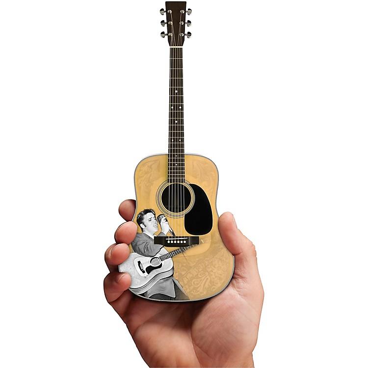 Axe HeavenElvis Presley Signature '55 Tribute Acoustic Model Officially Licensed Miniature Guitar Replica