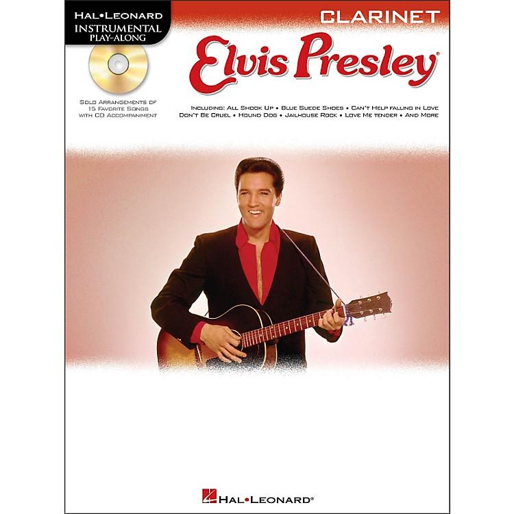 Hal LeonardElvis Presley for Clarinet - Instrumental Play-Along Book/CD Pkg
