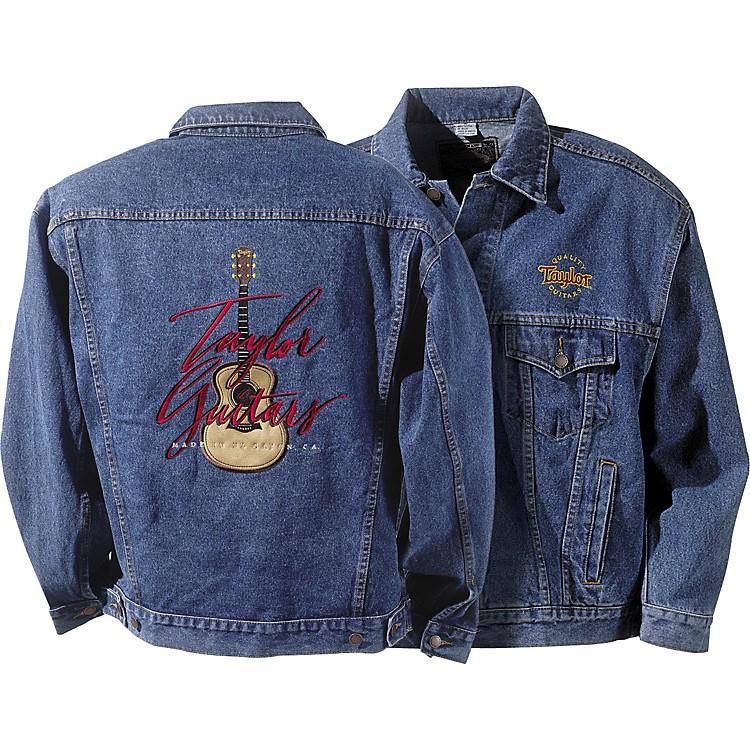 Taylor Embroidered Stonewashed Men39s Denim Jacket  Music123