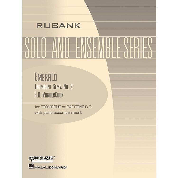 Rubank PublicationsEmerald (Trombone (Baritone B.C.) Solo with Piano - Grade 1) Rubank Solo/Ensemble Sheet Series