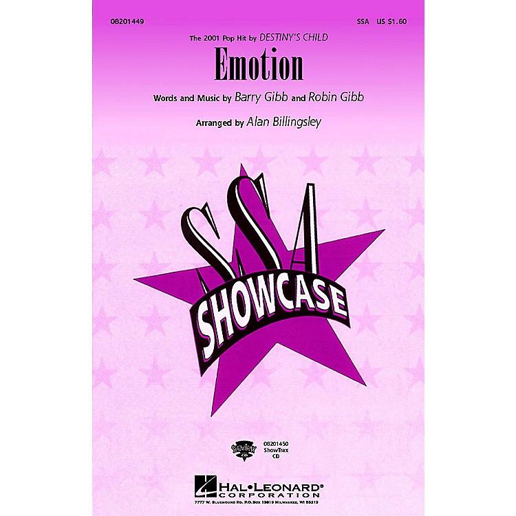 Hal LeonardEmotion SSA by Destiny's Child arranged by Alan Billingsley