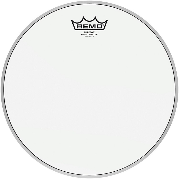 Remo Emperor Clear Crimplock Tenor Drumhead 8 in.