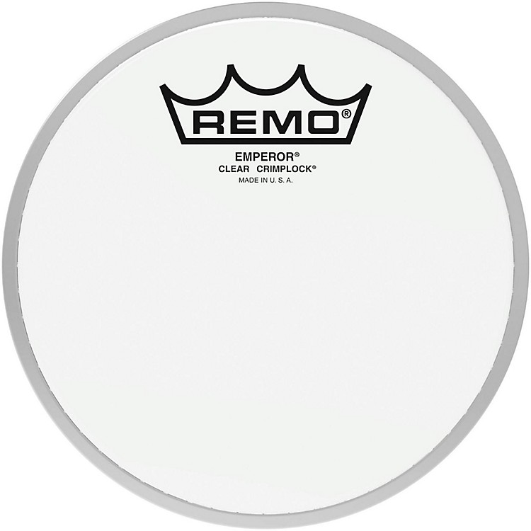 RemoEmperor Clear Crimplock Tenor Drumhead6 in.