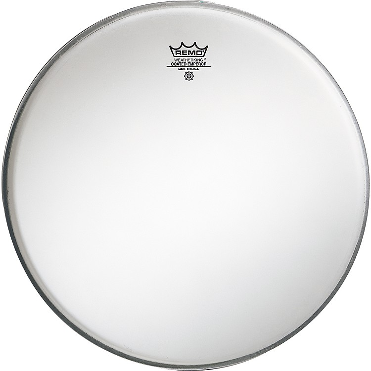RemoEmperor Coated White Bass Drum Head24 IN