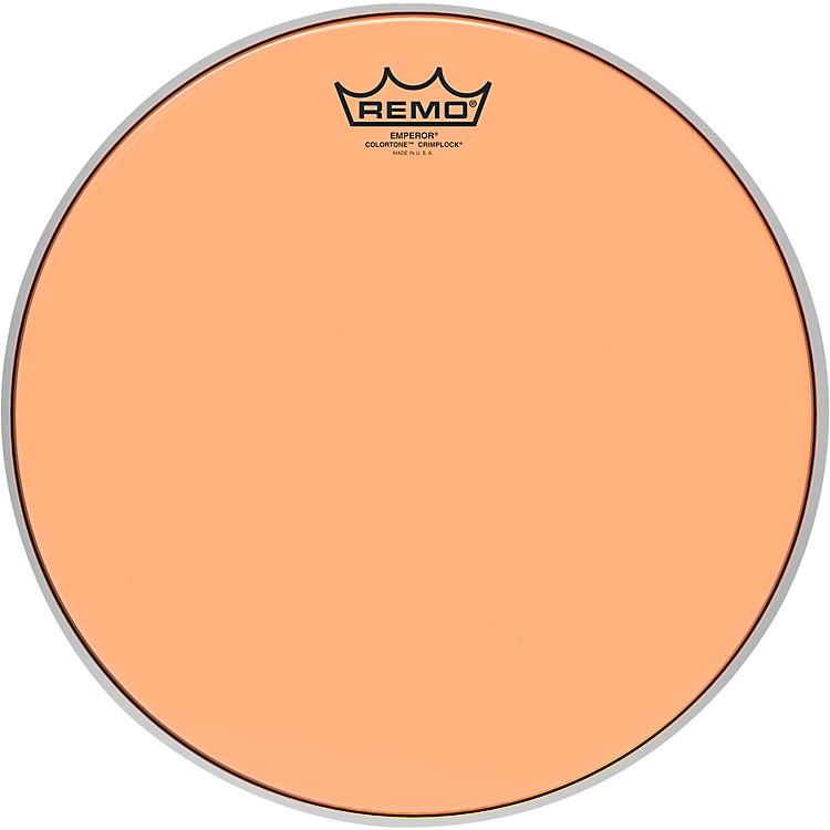RemoEmperor Colortone Crimplock Orange Tenor Drum Head13 in.