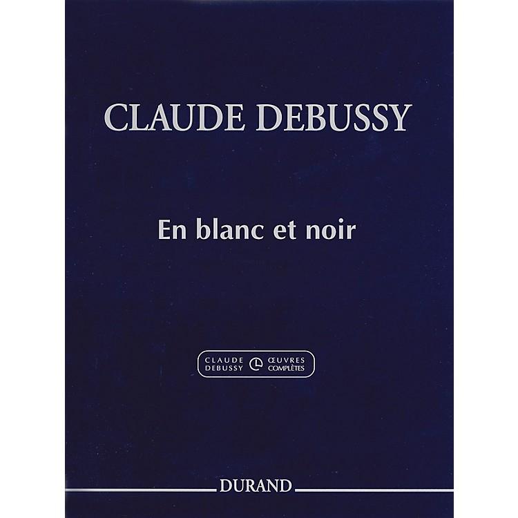 Editions DurandEn blanc et noir Editions Durand Series Softcover