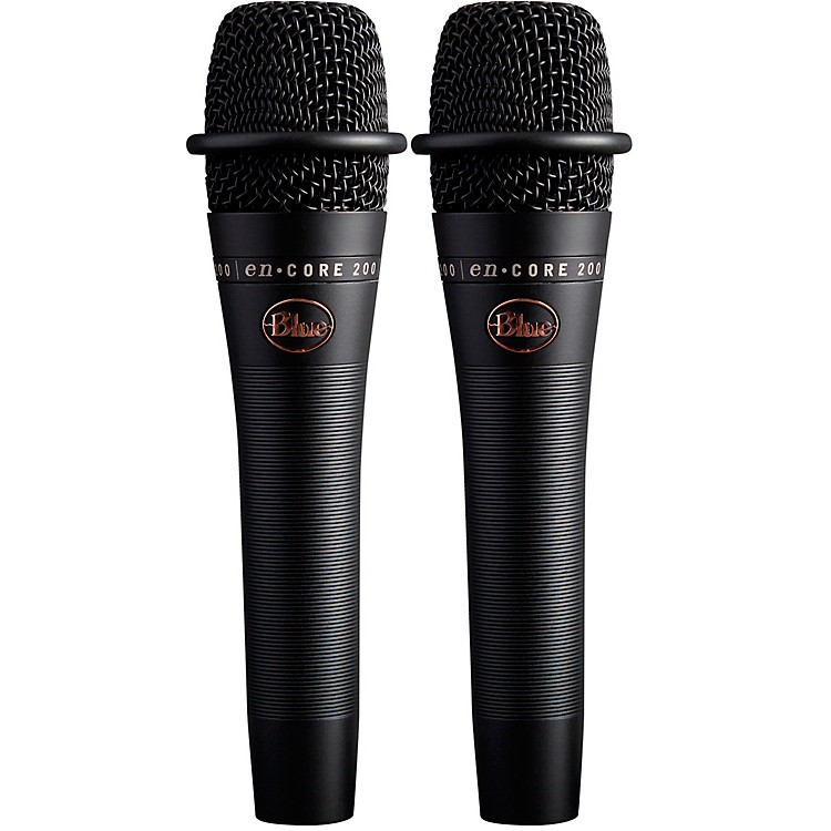 blue encore 200 dynamic microphone buy one get one free music123. Black Bedroom Furniture Sets. Home Design Ideas