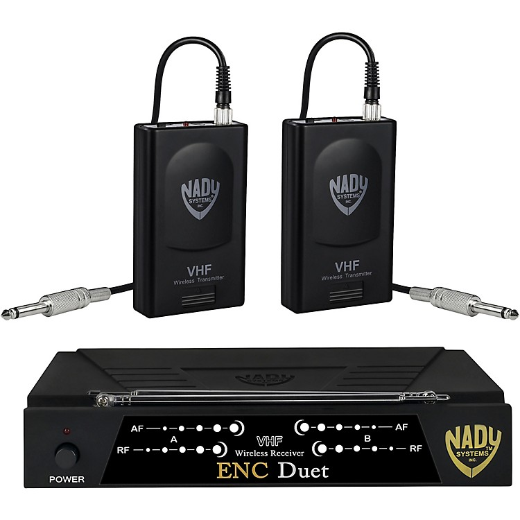 Nady Encore Duet Dual Wireless Instrument System Band A1 and D