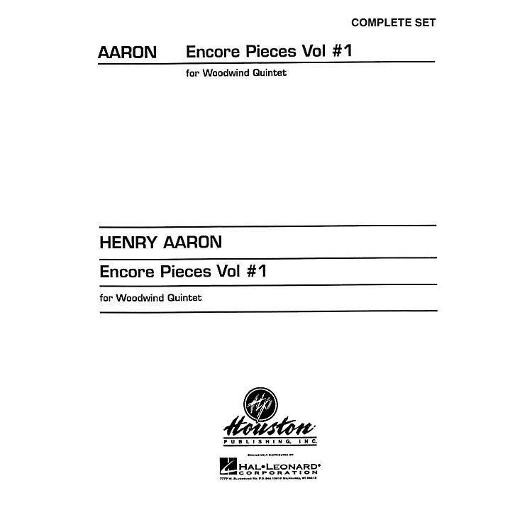 Hal LeonardEncore Pieces for Woodwind Quintet - Volume 1 (Complete Set) Houston Publishing Series