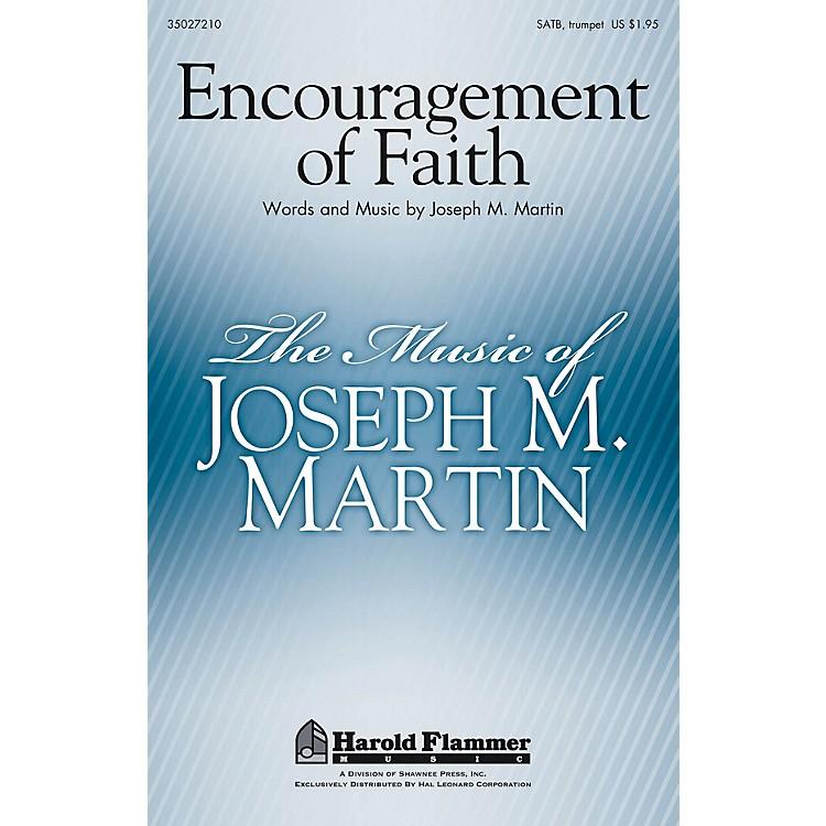 Shawnee PressEncouragement of Faith SATB composed by Joseph M. Martin