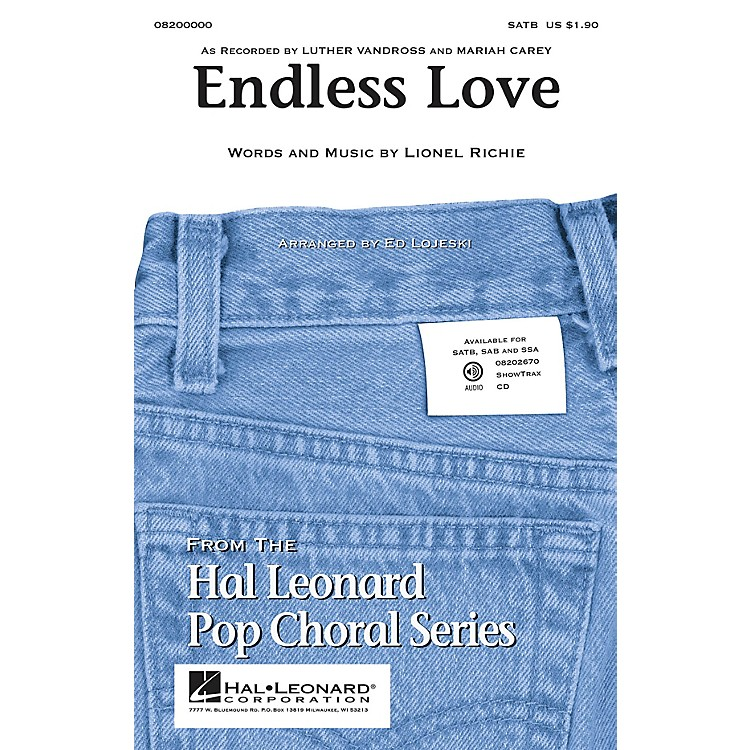 Hal Leonard Endless Love ShowTrax CD Arranged by Ed Lojeski