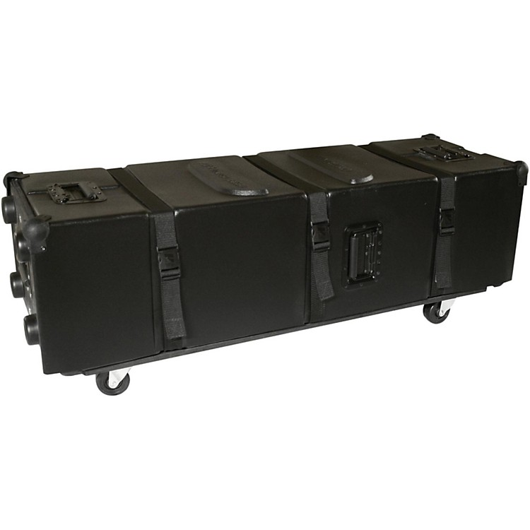 Humes & Berg Enduro Hardware Case with Casters on the Long Side Black 30.5 in.