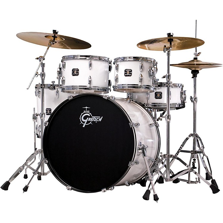 Gretsch DrumsEnergy 5-Piece Drum Set With Hardware and Sabian Cymbals