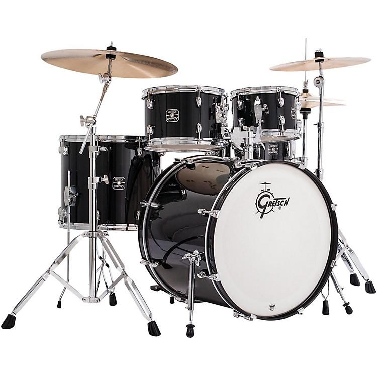 Gretsch DrumsEnergy 5-Piece Drum Set with HardwareBlack