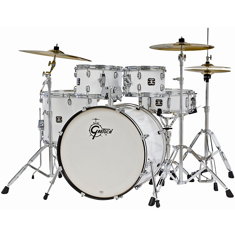 gretsch drums energy 5 piece drum set with hardware and sabian sbr cymbal pack music123. Black Bedroom Furniture Sets. Home Design Ideas