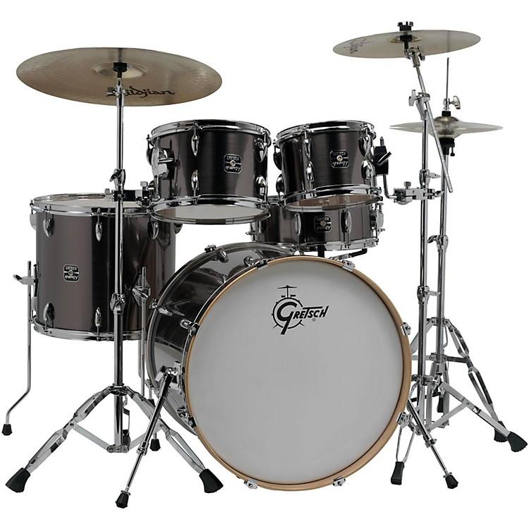 Gretsch DrumsEnergy VB 5-Piece Drum Set with Zildjian CymbalsGray