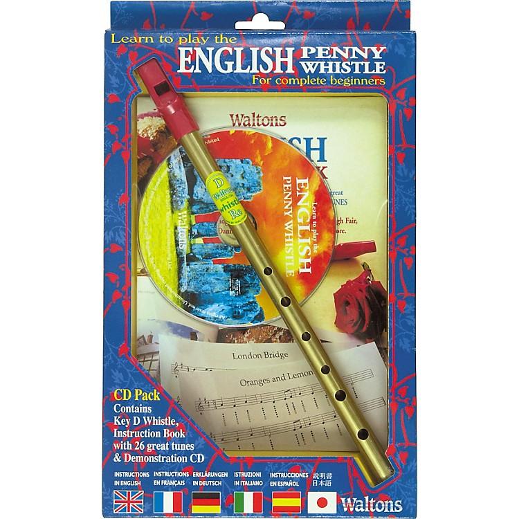 WaltonsEnglish Penny Whistle CD Pack