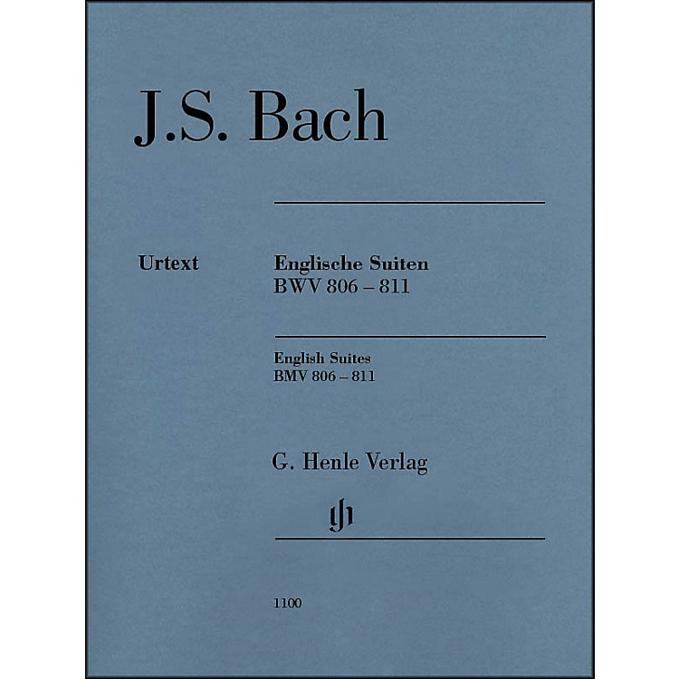 G. Henle VerlagEnglish Suites BWV 806-811 By Bach