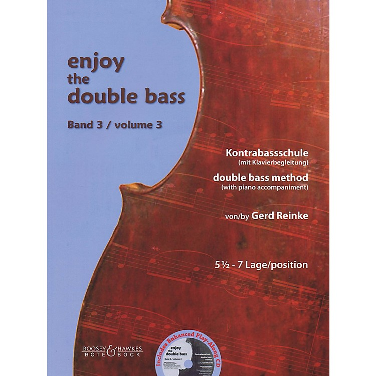 Bote & BockEnjoy the Double Bass Series Softcover Audio Online Written by Gerd Reinke