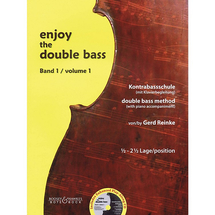 Bote & BockEnjoy the Double Bass Series Softcover with CD Written by Gerd Reinke