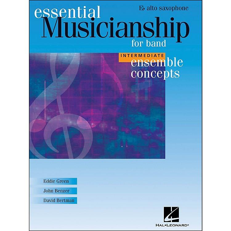 Hal LeonardEnsemble Concepts for Band - Intermediate Level Alto Sax