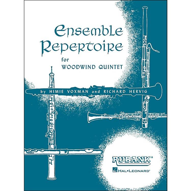 Hal LeonardEnsemble Repertoire for Woodwind Quintet - Full Score