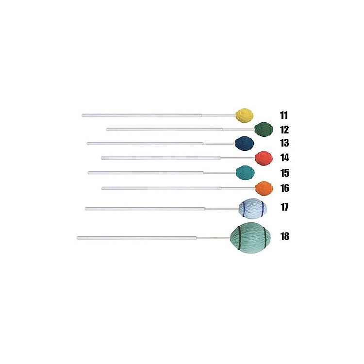 Mike BalterEnsemble Series Fiberglass Marimba Mallets17 Light Blue Yarn Extra Soft