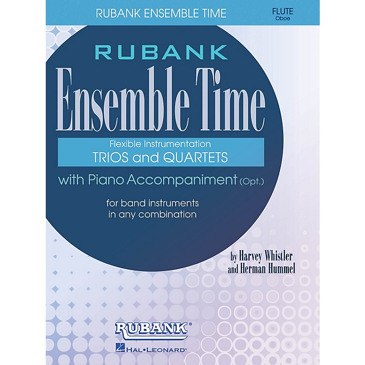 Rubank Publications Ensemble Time - B Flat Clarinets (Bass Clarinet) Ensemble Collection Series