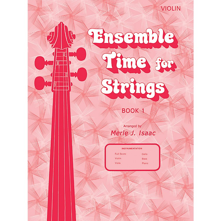 AlfredEnsemble Time for Strings Book 1 Violin