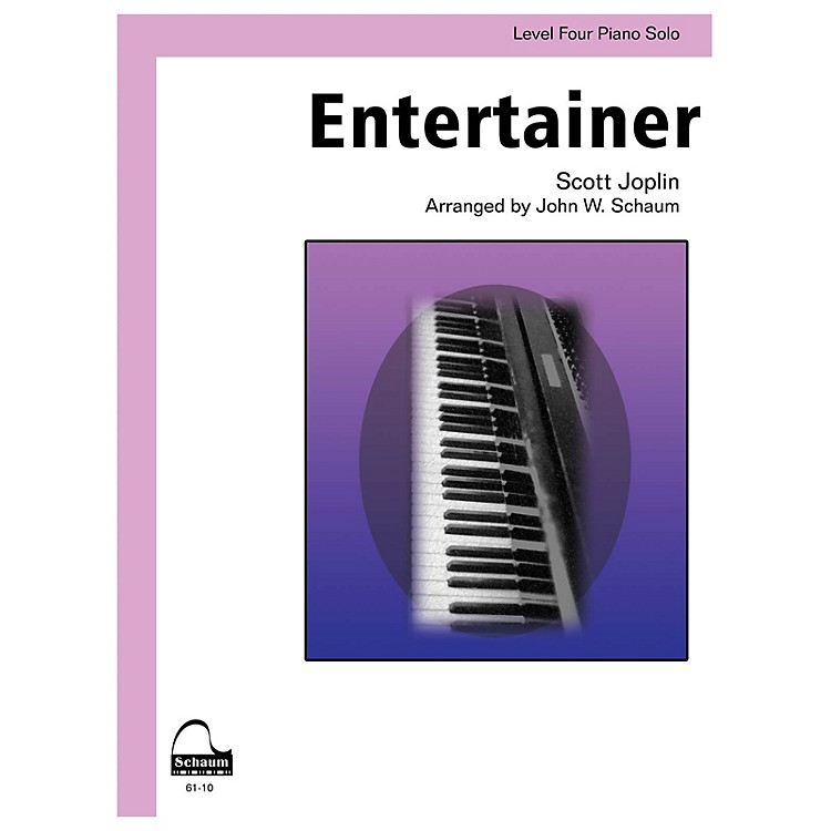 SCHAUMEntertainer Educational Piano Series Softcover