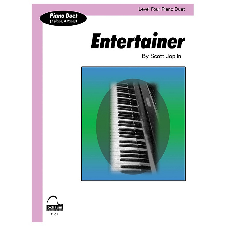 SCHAUMEntertainer (duet) Educational Piano Series Softcover