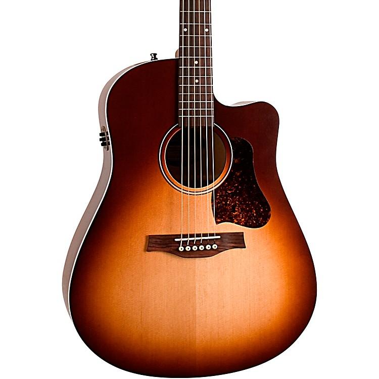 SeagullEntourage Autumn Burst CW QIT Acoustic-Electric GuitarAutumn Burst