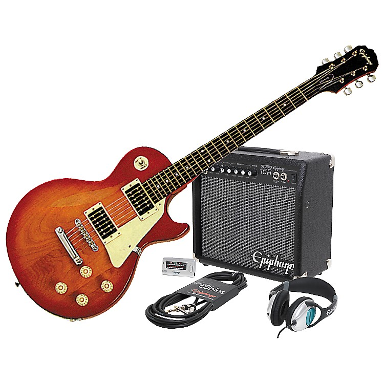 EpiphoneEpiphone LP-100 Electric Guitar and All Access Amp Pack