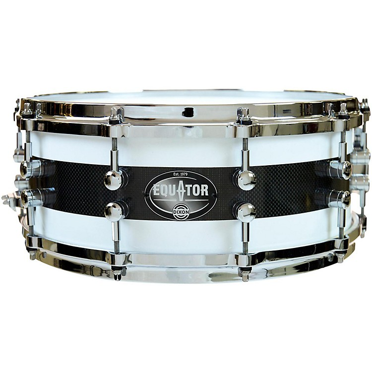 Dixon Equator Series Maple/Carbon Fiber Snare Drum 14 x 5.5 in.