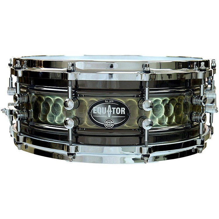Dixon Equator Series Steel/Aluminum Snare Drum 14 x 5.5 in.